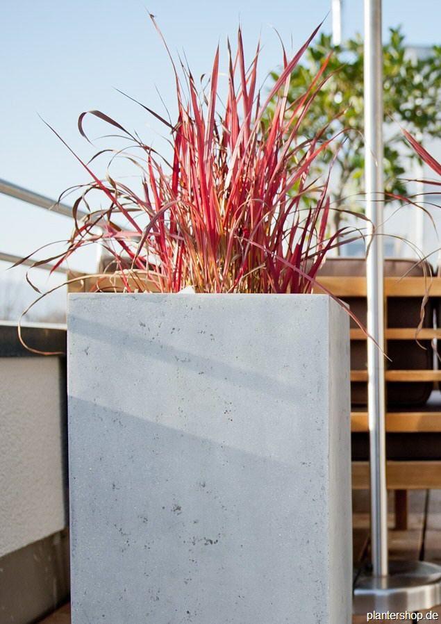 25+ Best Ideas About Blumenkübel Beton Na Pintereste | Pflanzkübel ... Pflanzkubel Aus Beton Gestalterische Highlights