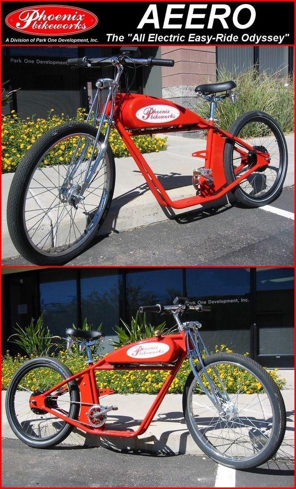Mountain Bike Honda Motorized