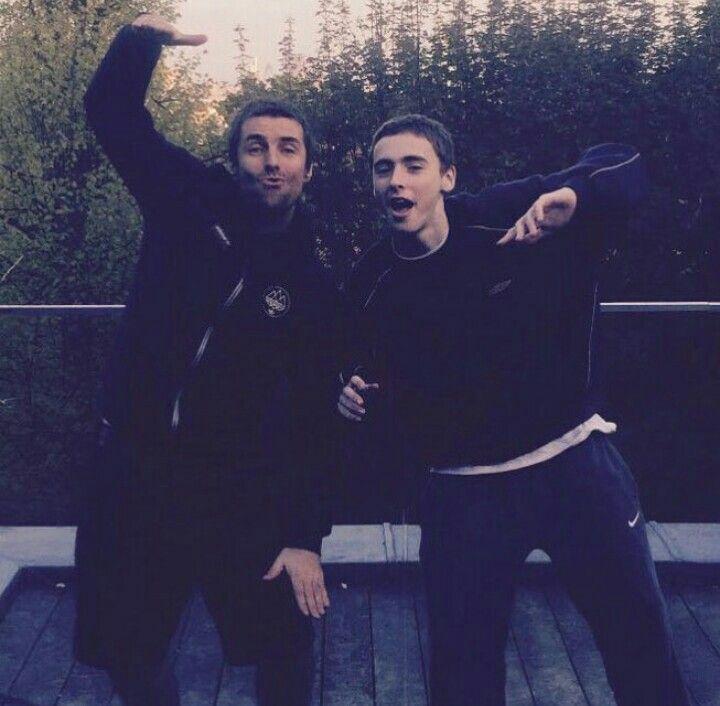 Liam y Gene Gallagher❤