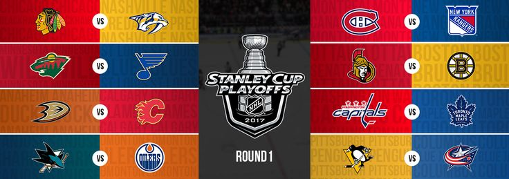 16 teams start... only one ends up with the Stanley Cup: 2017 NHL Playoffs are here! #hockey #nhl #playoffs #stanleycup