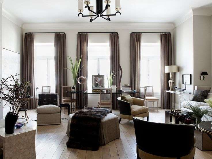 Apartment By Sandra Nunnerley Inc. In New York, NY. Living Room ... Part 92