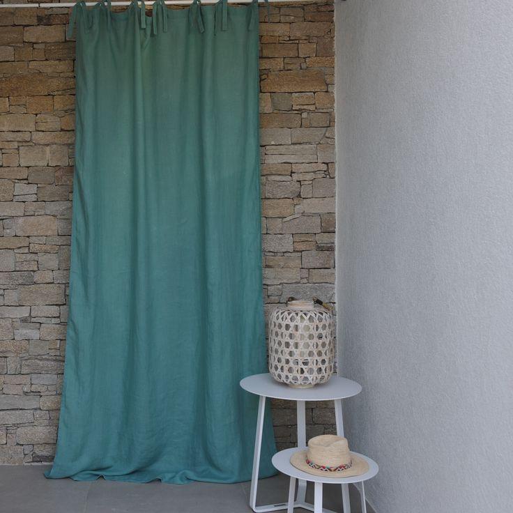 les 11 meilleures images du tableau rideaux en lin sur pinterest rideaux en lin linge de. Black Bedroom Furniture Sets. Home Design Ideas
