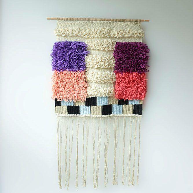 geometrias-3 , tapiz de Amara Montes