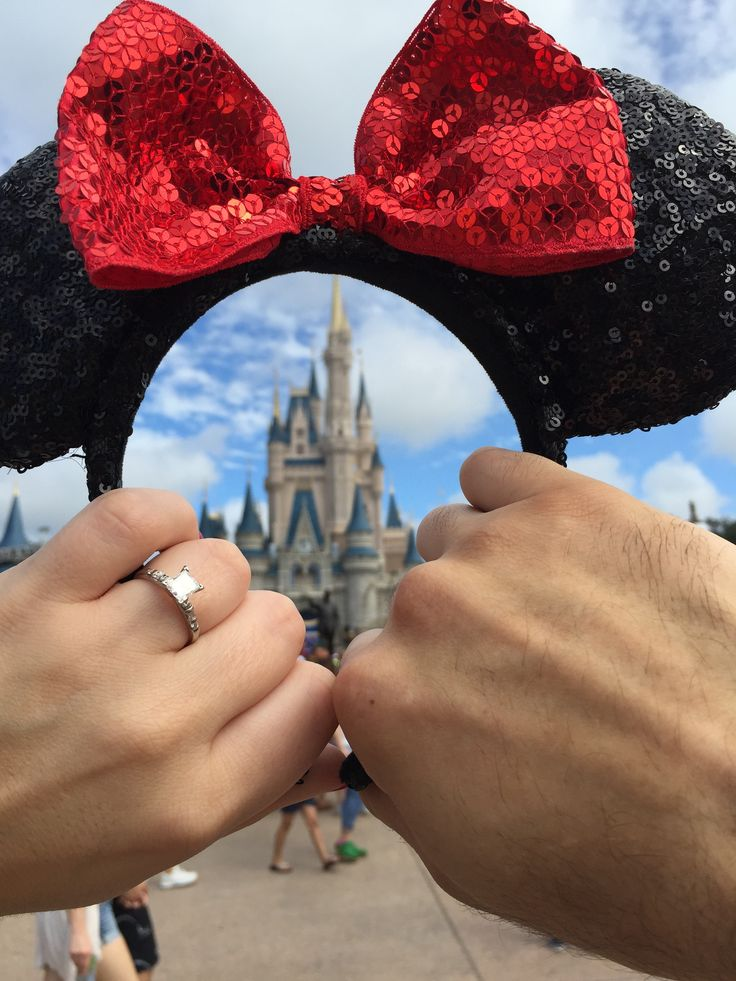 My favorite picture from our engagement in Walt Disney World! 9/17/15.