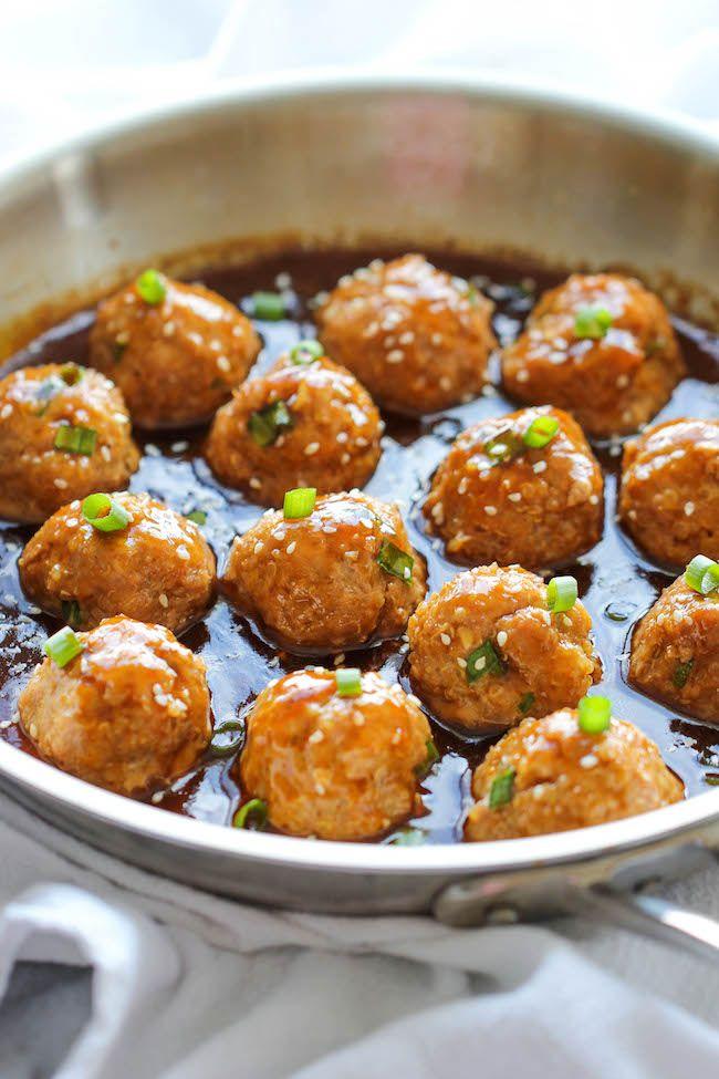 Asian Quinoa Meatballs