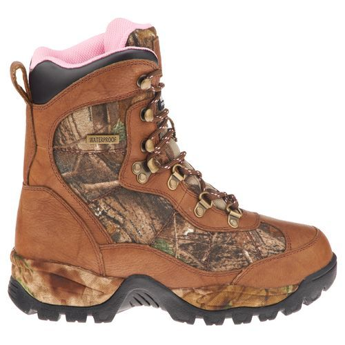 Realtree Camo Women's All Terrain Hunting Boots  #realtreeAP #camo #huntingboots
