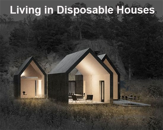 """Here's my latest column on """"Disposable Houses."""" With a Chinese company 3D printing 10 houses in a day, they've already compressed the building process 100-fold. This will lead to disposable housing, a trend that will blindside the entire real estate industry."""