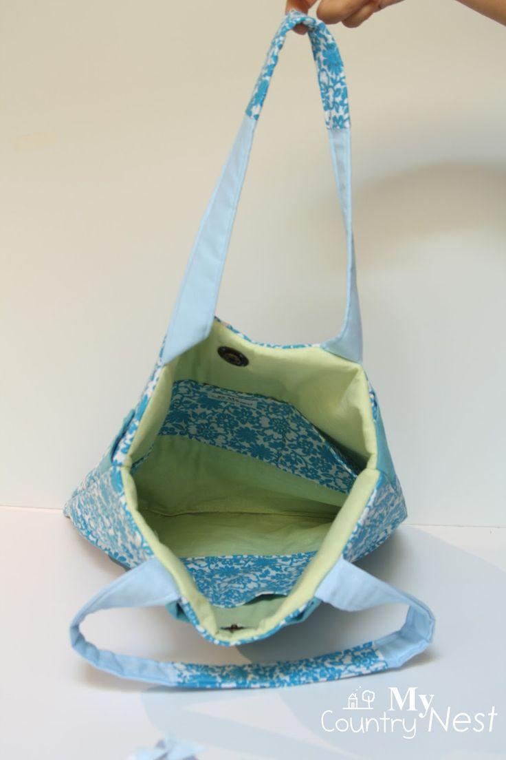 Riciclo di uno scamiciato.. per una borsa