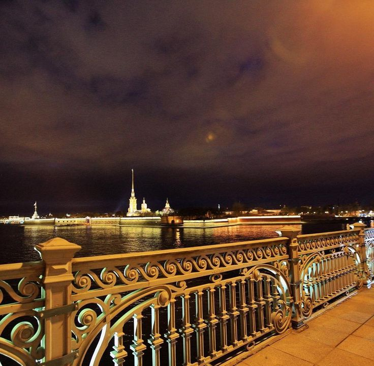 вид с Троицкого моста.    Автор фото: T_stadnikova.