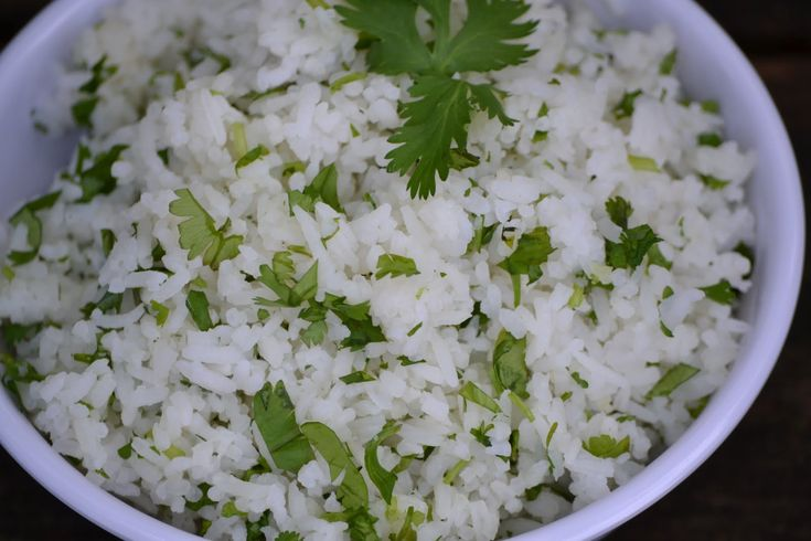 Chipotle Cilantro Lime Rice, 3 weight watchers points plus, 134 ...