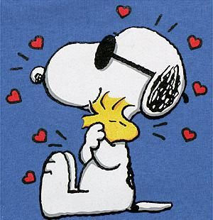 Snoopy & Woodstock = Best Friends Forever!