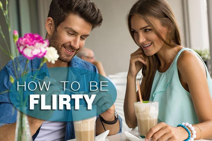 How to be flirty with a guy you like without overdoing it!!!