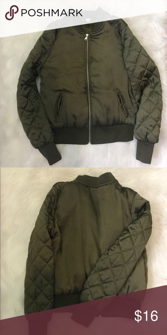 17 Best ideas about Army Green Bomber Jacket on Pinterest | Green ...