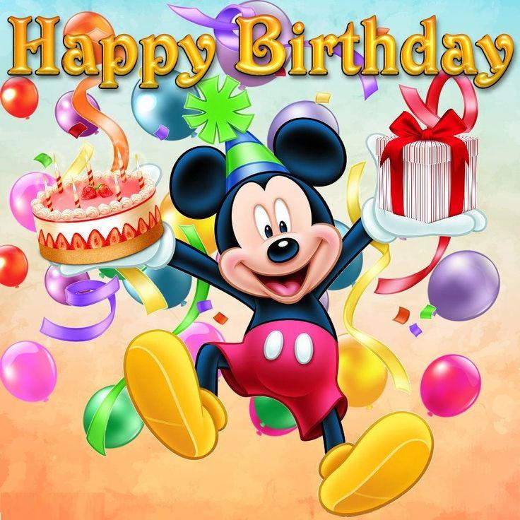 Pin by pintyo64 on születésnap Birthday cartoon, Happy