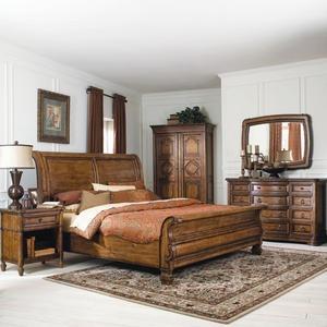 Bernhardt Villa Hermosa Sleigh Bed Master Bedroom In