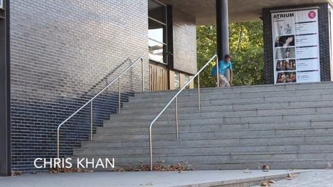 10qs: Chris Khan – True Skateboard Mag: True Skateboard Mag – Check out Chris Khan 10qs on http://truesk8boardmag or on our Mobile apps…
