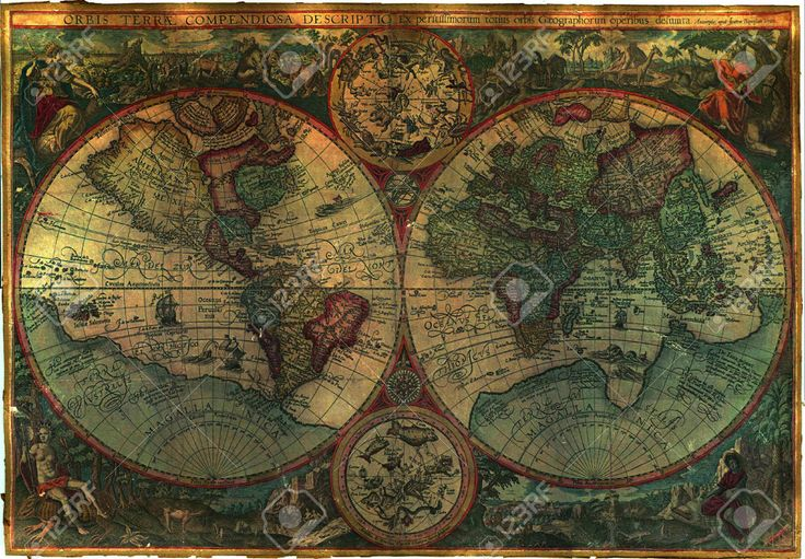 Old Royalty Free Standard World Map Stock Photo, Picture And Royalty Free Image…