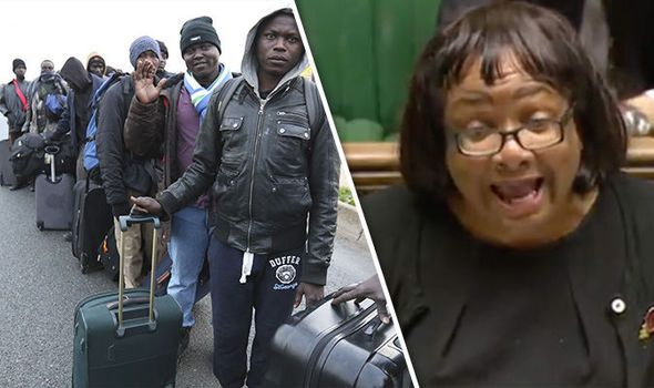 Diane Abbott says Calais migrant camp should have STAYED until all children were assessed