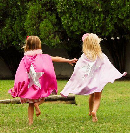 kids superhero and princess capes on Etsy, $24.00