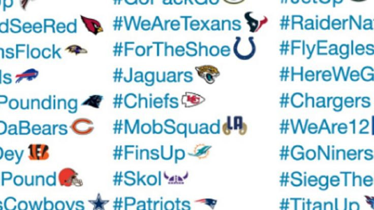Ranking all 32 NFL teams' new Twitter hashtags and emojis - SBNation.com