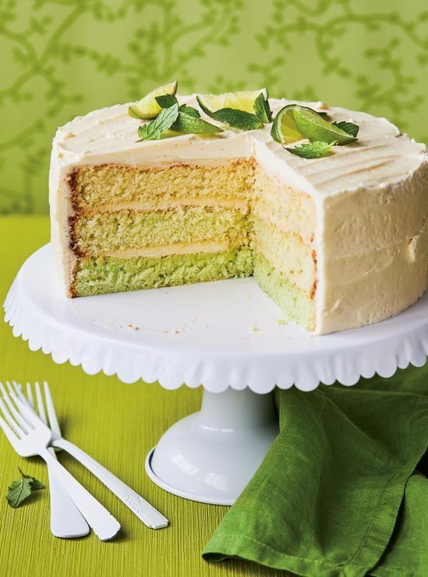 Gâteau « mojito »
