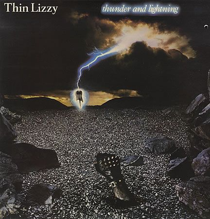 For Sale - Thin Lizzy Thunder And Lightning + EP - EX UK  2-LP vinyl record set (Double Album) - See this and 250,000 other rare & vintage vinyl records, singles, LPs & CDs at http://eil.com