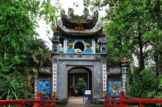 Ngoc Son Temple, Hanoi, Vietnam.