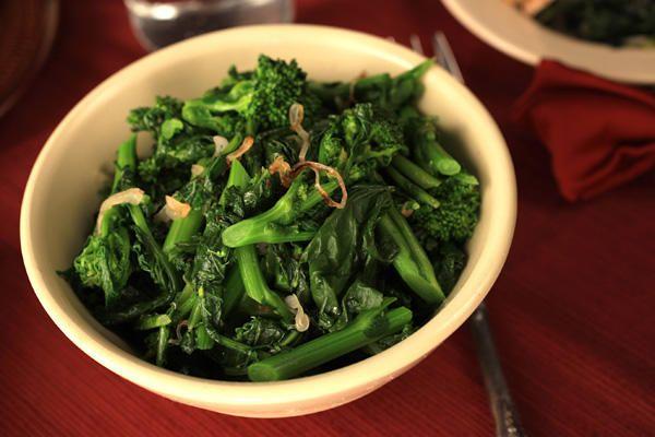 Sautéed Broccoli Rabe Recipe