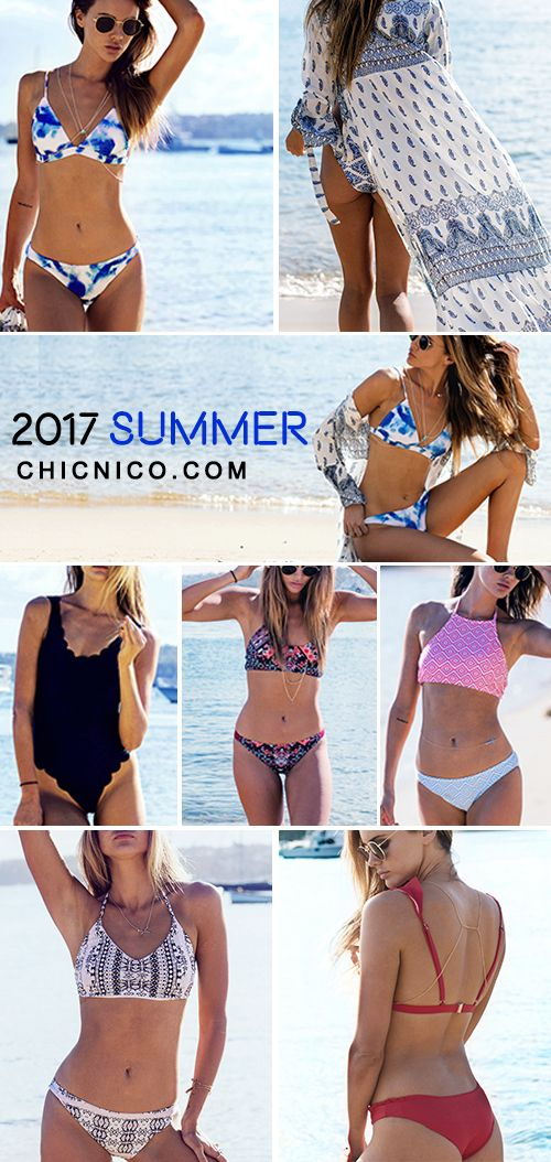 Hot Summer, Hotter you, baby! 2017 New Arrivals at chicnico.com