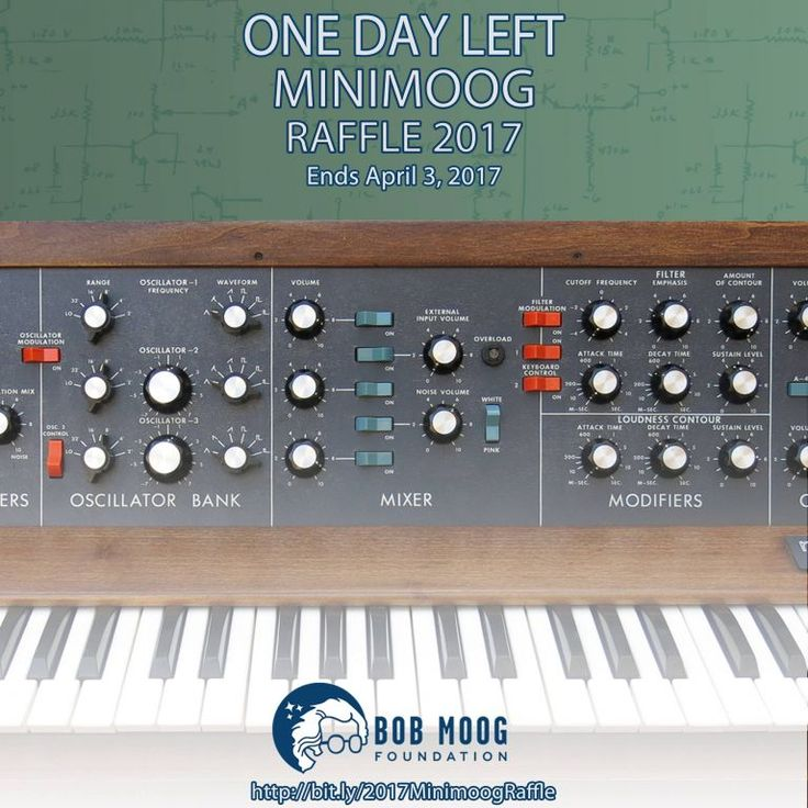 Last Call To Win a Vintage Minimoog Model D Signed By Jan Hammer  For today let's forget about clones of classic synths and focus on an authentic, vintage Minimoog Model D signed by Jan Hammer that could be yours! But hurry! There's only a few hours remaining. ...  http://ask.audio/articles/last-call-to-win-a-vintage-minimoog-model-d-signed-by-jan-hammer