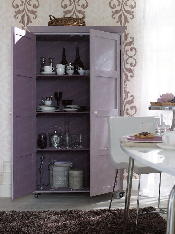 Purple cabinet - another storage option