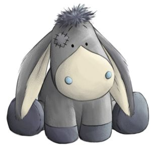 Sugarcube... the helpful little Donkey… he'll carry you through life when you need him.