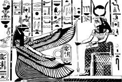 Egyptian gods by UrsaMajor #fantastick #onyourwall #wallart #sticker #home #deco