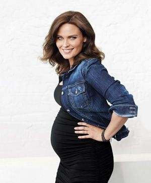 Actress Emily Deschanel on her scripted and real-life pregnancies.