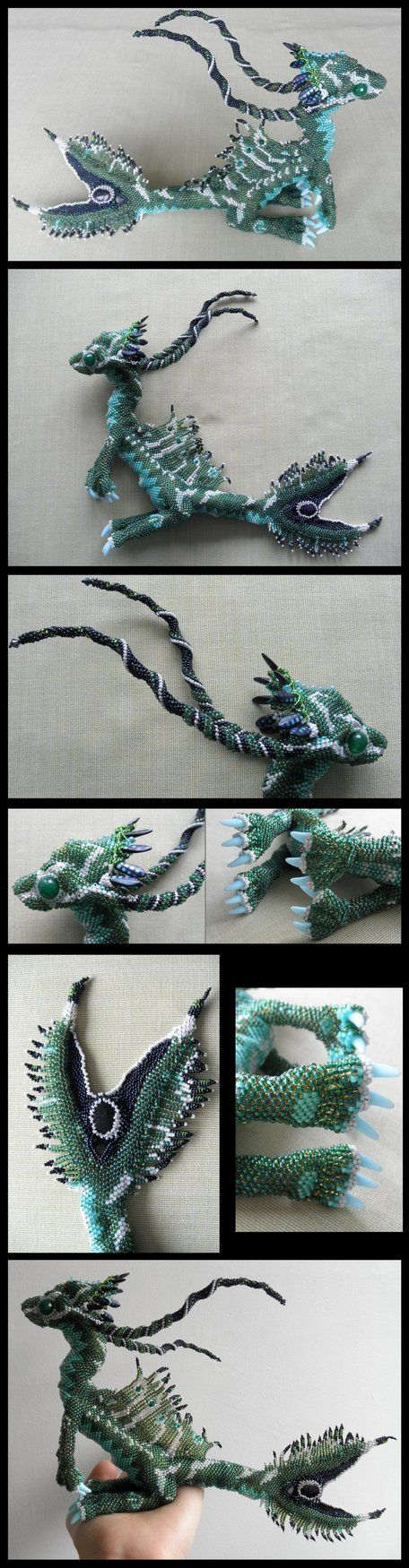 swimming dragon!  what are the claws made with?   Hi, I like to swim by *Rrkra on deviantART