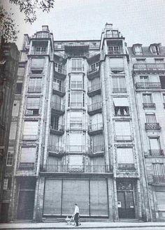 Immeuble 25 bis, rue Franklin 1904
