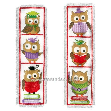 Shop online for Clever Owls Bookmarks Cross Stitch Kit at sewandso.co.uk. Browse our great range of cross stitch and needlecraft products, in stock, with great prices and fast delivery.