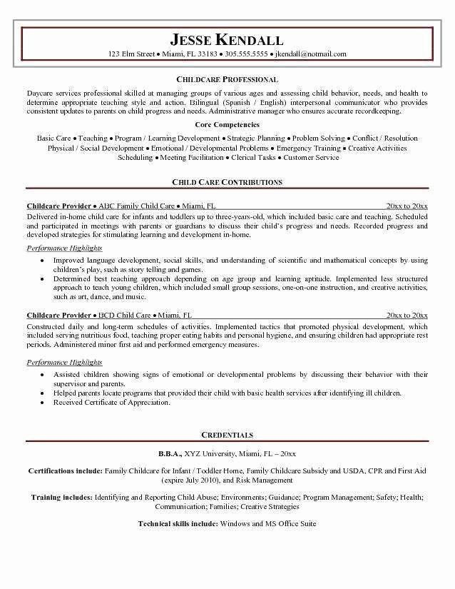 Pin On Best Job Resume Idea Printable Personal Statement For Child Care Worker