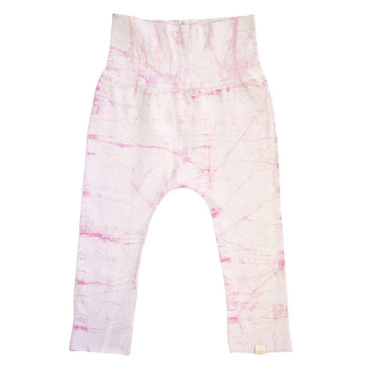 KIDS PANTS rose quartz pink batik