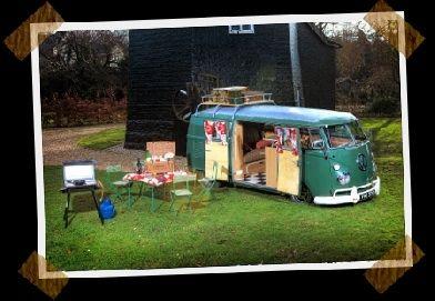 Vintage Wandering Camper HIre, Cambridge