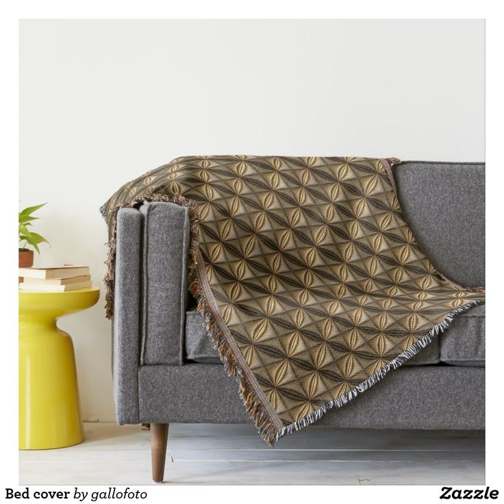 Bed cover throw