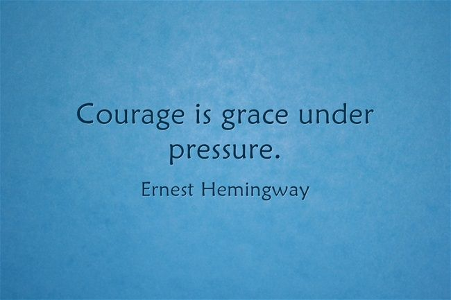 Grace Under Pressure Quote: 73 Best Daily Quotes Images On Pinterest