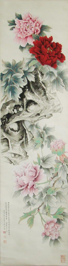 Chinese brush painting by Wang Daoliang 王道良