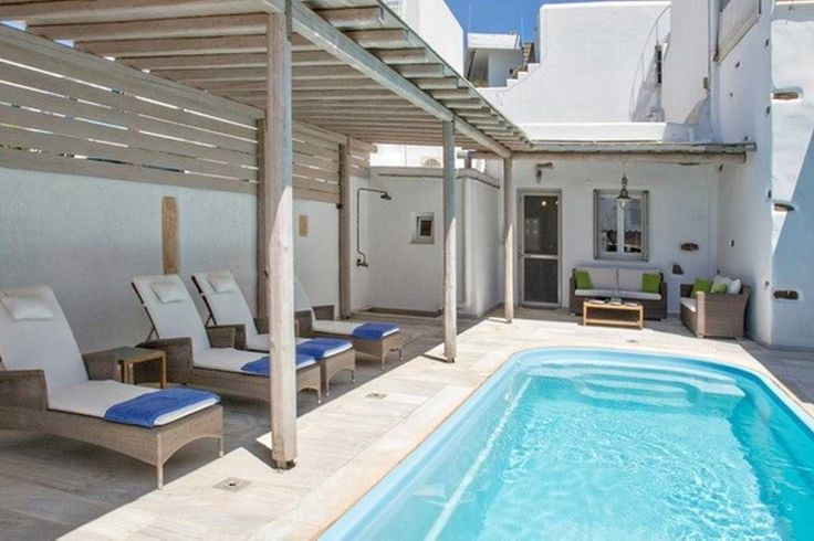 House in Tinos, Greece. Come to a place so warm and hospitable, like the morning sun. Within the city the unique with pool. Next to the oven, 200 m from super market. Nearest beach 700 m, City Centre, port and