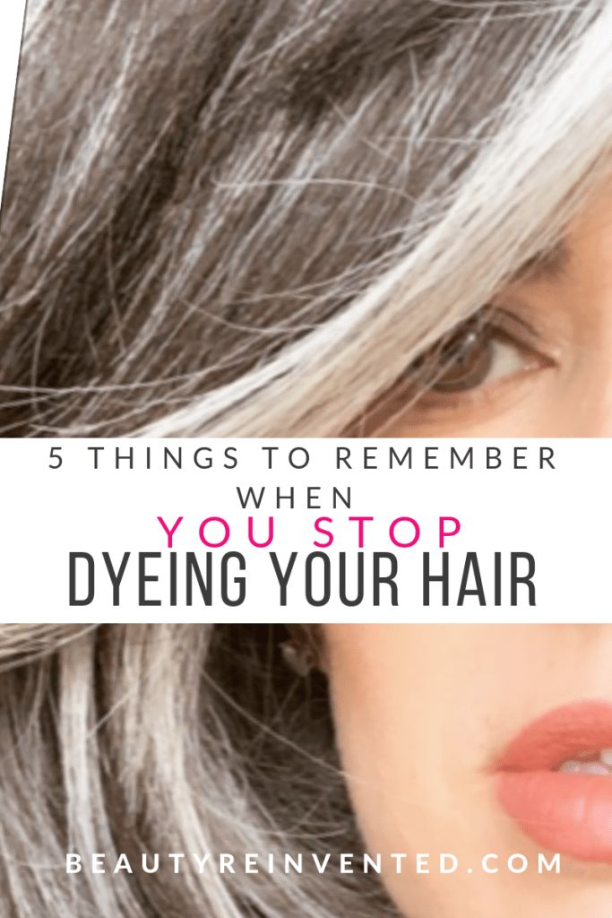 5 Issues To Bear in mind When You Cease Dyeing Your Hair – NIKOL JOHNSON