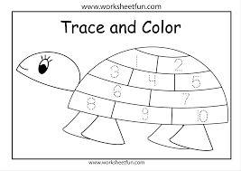 Image result for tracing numbers 1-10 worksheets kindergarten