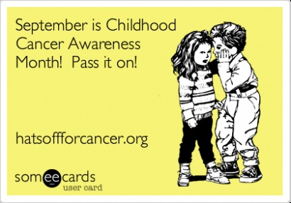 Ways to get involved during September's Childhood Cancer Awareness Month!