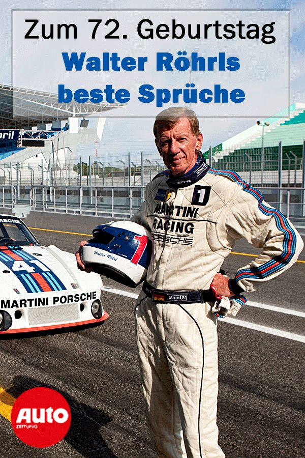 Walter Röhrl: The best sayings