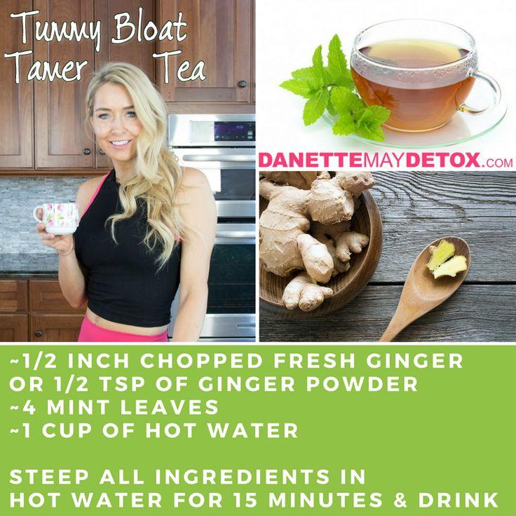 Tummy Bloat Tamer Tea