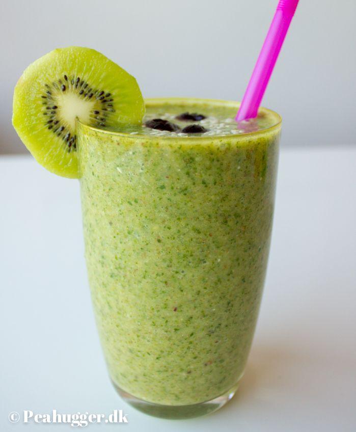 Grøn power-smoothie
